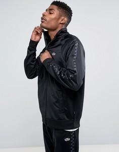 Черная спортивная куртка Vans East End VA36KVBLK - Черный