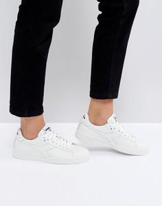 Белые низкие кроссовки Diadora Game - Белый