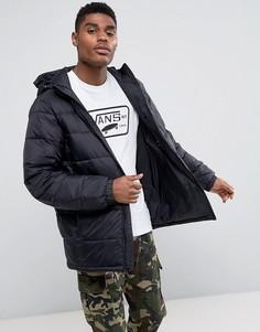 Черная дутая куртка Vans Woodcrest MTE VA2X5UBLK - Черный