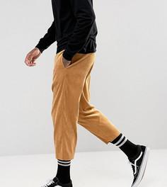 Вельветовые брюки свободного кроя Reclaimed Vintage Inspired - Рыжий