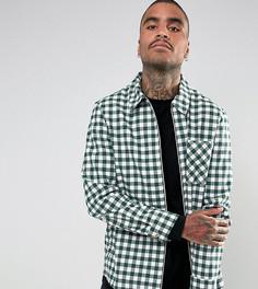Рубашка в клетку Reclaimed Vintage Inspired - Зеленый
