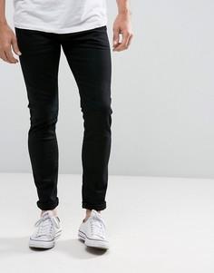 Эластичные зауженные джинсы Esprit - Черный