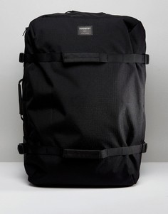 Рюкзак и сумка дафл из вельвета и эко-ткани рипстоп Sandqvist Zack - Черный