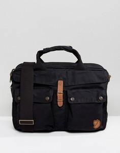 Черная сумка для ноутбука объемом 14 литров Fjallraven Greenland - Черный
