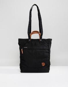 Черная сумка‑тоут Fjallraven No.1 - 14 л - Черный