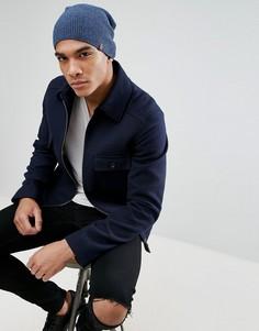Фактурная шапка-бини Esprit - Темно-синий