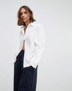 Рубашка Wood Wood Silvia Core - Белый