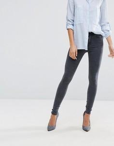 Выбеленные джинсы с классической талией Dr Denim - Серый