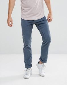 Серо-синие джинсы прямого кроя Wrangler Spencer - Темно-синий