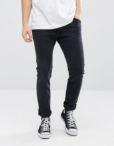 Черные джинсы скинни Wrangler Bryson - Черный