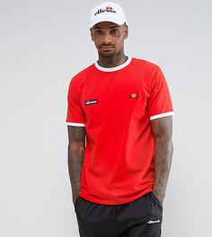 Красная футболка Ellesse Ringer - Красный