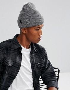 Серая шапка-бини Brixton - Серый