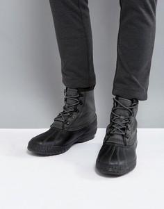 Водонепроницаемые парусиновые ботинки Sorel Cheyanne - Черный