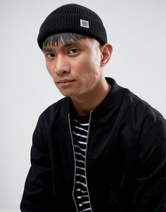 Черная шапка-бини Element - Черный