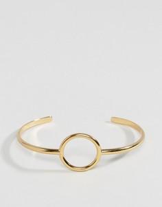 Разомкнутый браслет Orelia - Золотой