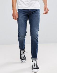 Синие джинсы слим Lee Jeans Arvin - Синий