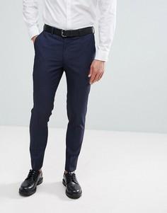 Облегающие брюки Burton Menswear - Темно-синий