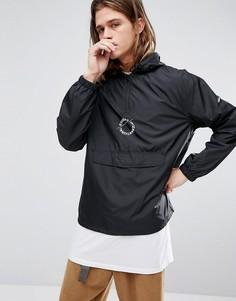Черная куртка с принтом на спине Stussy - Черный