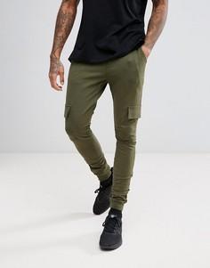 Джоггеры с боковыми карманами Troy - Зеленый