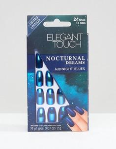 Накладные ногти Elegant Touch Nocturnal Dreams - Синий