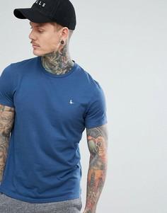Синяя базовая футболка Jack Wills Sandleford - Синий