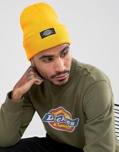 Золотисто-оранжевая шапка-бини Dickies - Желтый