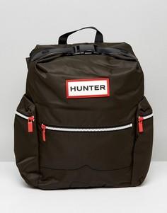 Рюкзак с логотипом Hunter - Зеленый