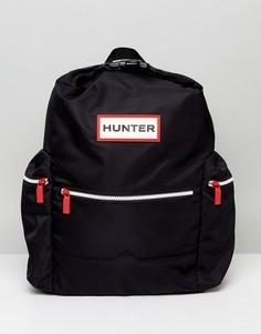Черный рюкзак с логотипом Hunter - Черный