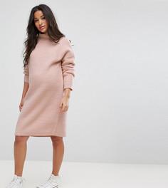 Платье-джемпер ASOS MATERNITY - Розовый