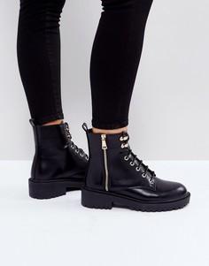 Ботинки на шнуровке RAID Jenny - Черный