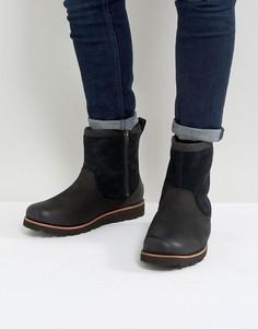 Замшевые непромокаемые ботинки UGG Hendran Treadlite - Черный