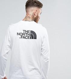 Белый лонгслив с логотипом на спине The North Face эксклюзивно для ASOS - Белый