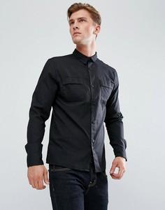 Рубашка в стиле милитари Bellfield - Черный