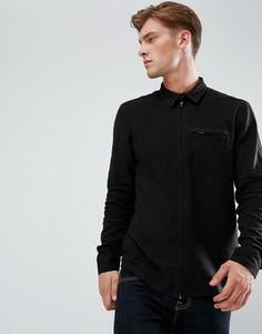 Рубашка на молнии Bellfield - Черный