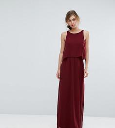 Платье макси 2 в 1 Silver Bloom - Красный