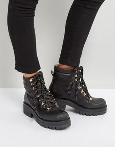 Ботинки на толстой подошве Gestuz - Черный