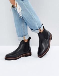 Кожаные ботинки челси Dune Quart - Черный