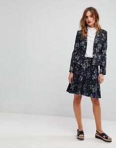 Комбинируемая юбка с цветочным принтом Max&Co Pericle - Мульти