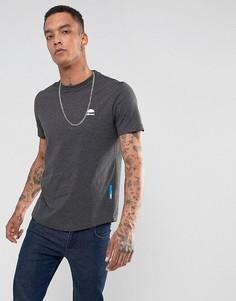 Серая футболка с маленьким логотипом Ellesse Italia - Серый