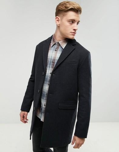 Шерстяное пальто Esprit - Серый