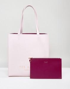 Броская сумка Ted Baker - Розовый