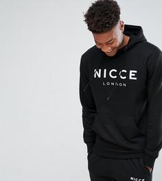 Худи черного цвета с логотипом Nicce London TALL - Черный