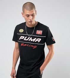 Футболка с принтом на спине Puma Speedway эксклюзивно для ASOS 57659501 - Черный