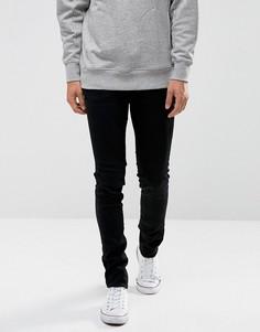 Черные джинсы скинни с напылением Waven - Черный