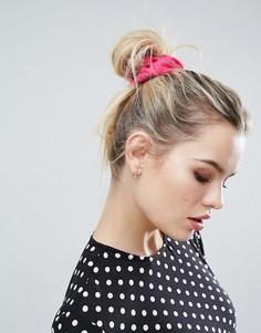 Большая резинка для волос ASOS - Розовый