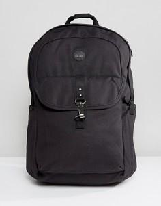 Черный рюкзак с кожаной отделкой Timberland Walnut Hill 20 л - Черный