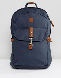 Темно-синий рюкзак с кожаной отделкой Timberland Walnut Hill 20 л - Темно-синий