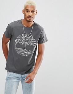 Темно-серая футболка Timberland - Серый