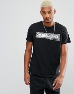 Черная футболка Timberland - Черный