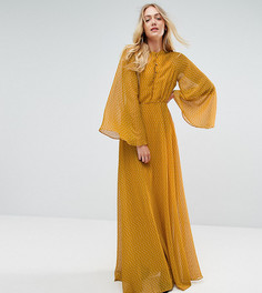 Платье макси Y.A.S Tall - Желтый